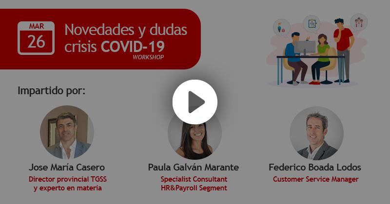 Webinar novedades y dudas COVID-19